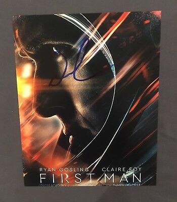 EXACT PROOF! DAMIEN CHAZELLE Signed Autographed FIRST MAN 8x10 Photo