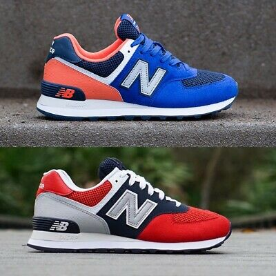 f2149665bc4fa NEW BALANCE 574 Men's New Pigment Team Red Casual Lifestyle Sneakers ...