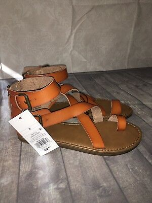 f9aa83a73df7e6 Universal Thread Sandals Shoes Size 6 Gladiator Toe Ring Brown