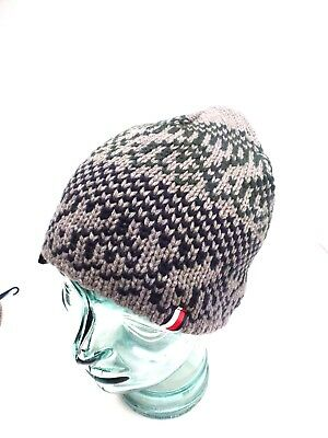 dc47c9fe9517c TOMMY HILFIGER MEN S Beanie Hat  Gray Multicolor One Size Fit New ...