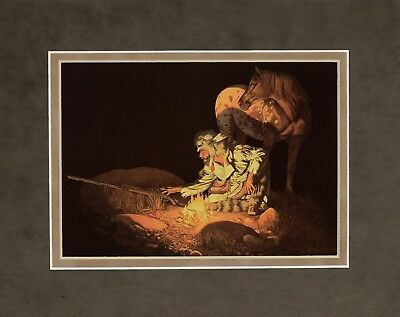 Unknown Presence by Bev Doolittle 8x10 double matted art print
