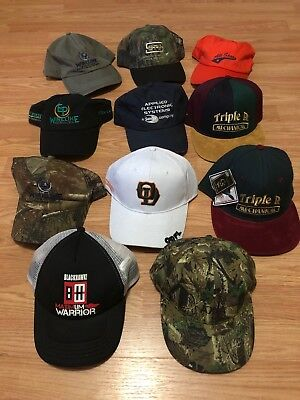 LOT OF 11 New ball caps  Assortment of oilfield, trucking and business
