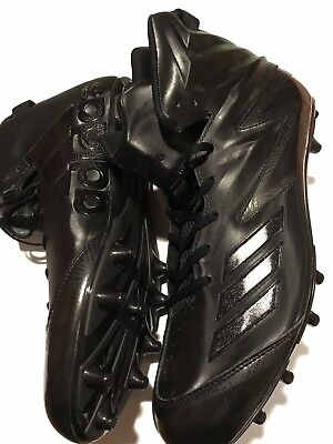 free shipping e18d2 71fb3 NWT NEW ADIDAS Freak Mid MD Black  White Football Cleats SZ 17