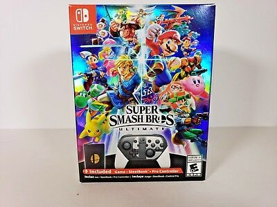 Super Smash Bros Ultimate Special Edition - Nintendo Switch Brand NEW