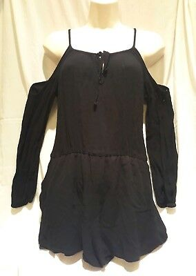 51680733c8cf Saks fifth avenue Black Romper size medium preowned. Casual formal party  (1).
