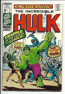 Incredible Hulk King-Size Annual # 3 (Jan 1971), Vg+