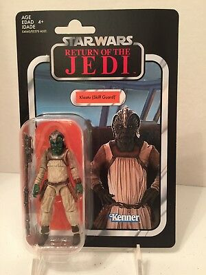 Star Wars Vintage Collection 2019 Wave 4 VC135 Klaatu Skiff Guard
