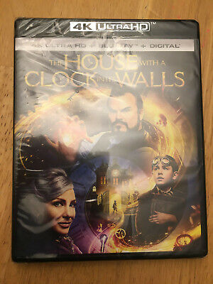 The House with a Clock in Its Walls (4K UHD + Blu Ray + Digital) No Slip Cover