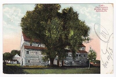Postcard The Cloisters Brother House Ephrata PA Great Condition 1905 A5