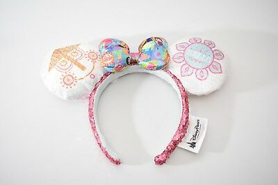 Disney Parks DIsneyland It's A Small World Minnie Mouse Ears Headband