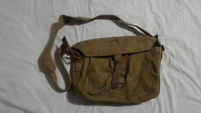 WW2 WWII Canadian Canada British Signals Satchel Bag Pattern 37 Webbing 1943