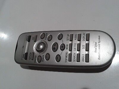 Toyota Rear Seat Entertainment System Remote 86170-45020,CY-0KT0560A USED TESTED