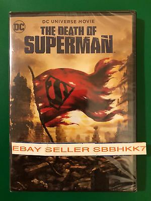 The Death of Superman DVD 2018 {{AUTHENTIC DVD READ}} Brand New Free Shipping