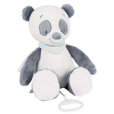 Nattou- Baby & Toddler Soft Plush Musical Toy - Loulou the Panda