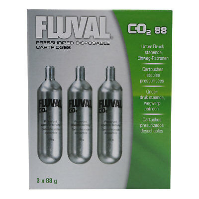 Fluval Pressurized disposable cartridge x 3 CO2 - A7547