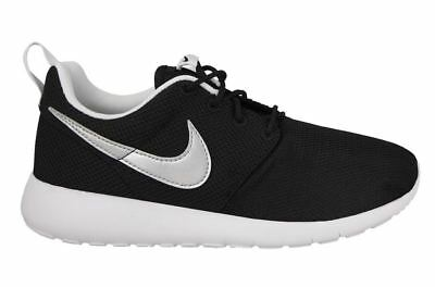 497e7d5159ba NIKE JUNIORS ROSHE One GS 599728 021 Black Silver UK 3-5.5 - EUR 48 ...
