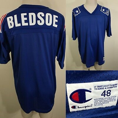 ... where can i buy vtg 90s drew bledsoe new england patriots champion  jersey 48 xl blank 27f695cfc