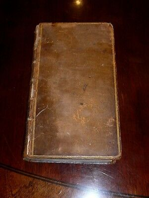 Shakespeare Vol 1 1735 six plays Rowe Tonson Very rare original leather covers.