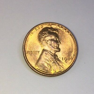 1944 Philadelphia Mint Uncirculated Red Lincoln Wheat Cent