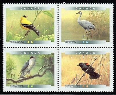 1999 Canada SC# 1773a Birds of  Canada-4a - Block of 4 Stamps Lot# A78 M-NH