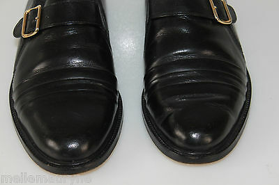 VINTAGE BELLOW Derby shoes loops All Leather Black T 40 VERY GOOD CONDITION