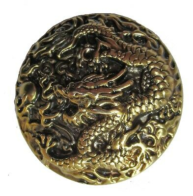 Badge broche Dragon métal coulé pins plaque vis métallique Cast Metal