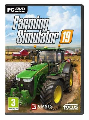 Farming Simulator 19 - PC - Sigillato Nuovo italiano