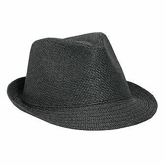 a36f1758a2aa5 STACY ADAMS MEN S Pinch Front Straw Fedora hat SA394 New with Tags ...