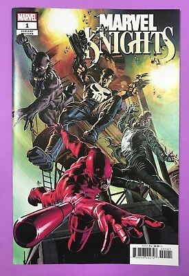 Marvel Knights 20th 1C Deodato Variant Cover New Marvel Black Panther 2018 NM