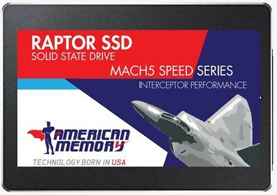 "American Memory Raptor SSD 120GB 2.5"" In Retail Package.Solid State Drive 2.5"""