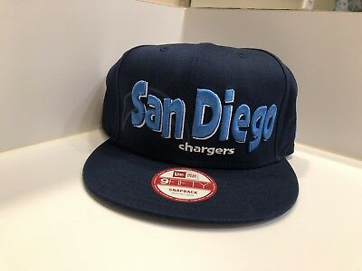 New Era San Diego Chargers NFL 9FIFTY Snapback Cap Navy Gold Medium-Large 7bc1ba1e738