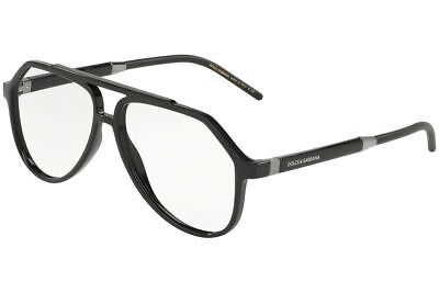 a0995bad290a Authentic Dolce   Gabbana Eyeglasses DG5038 501 Black Frames 56MM Rx-ABLE
