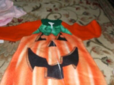 BABY PUMPKIN HALLOWEEN COSTUME INFANT 12-18 Months 1 YEAR OLD, VERY HEAVY