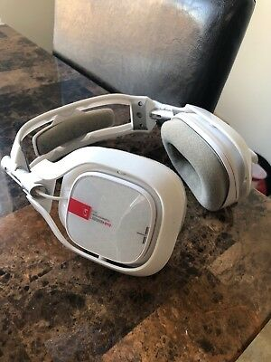 ASTRO Gaming A40 TR Headset + MixAmp Pro TR for Xbox One - White - (Read) - Used