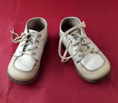Vintage Leather Baby Shoes.