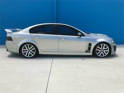2007 Holden Special Vehicles Clubsport E Series R8 Silver Manual 6sp M Sedan