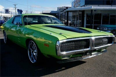 1972 Dodge Charger SE Green Automatic A Hardtop coup