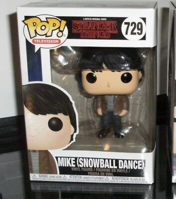 Funko Pop TV Stranger Things Mike at Snowball Dance #729 FAST SHIP!