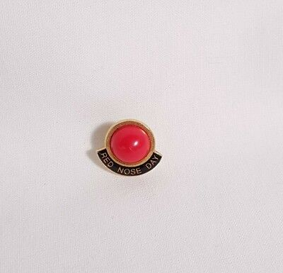 SIDS Red Nose Day Enamel Pin Badge Small Brooch Lapel Hat Tie