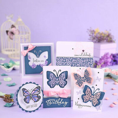Butterfly Metal Cutting Die Stencil Scrapbooking Paper Card Embossing Craft##