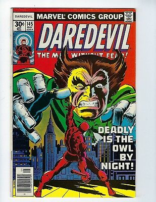 DAREDEVIL # 145 (Cents Issue, MAY 1977), VF