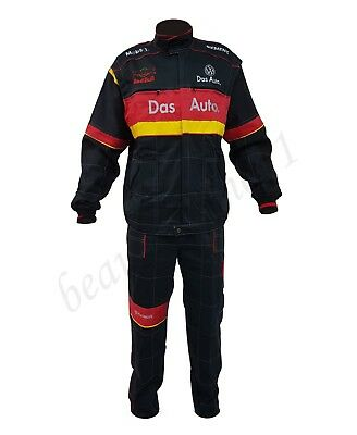 Volkswagen Overalls + Jacket Embroidered Logo VW on Front and Back size M - XXXL