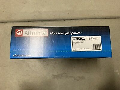 Altronix power supply Model AL600ULX. New Sealed.