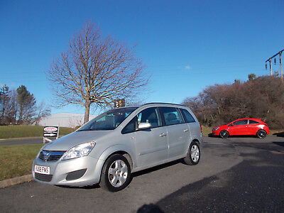 Vauxhall Zafira 1.6 Exclusive 7 Seater Mpv 2008 Bargain Only £1495 *look*