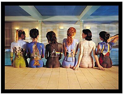 Pink Floyd Painted Bodies, Sew Iron on, Embroidered Original Artwork Patch 2.8X4