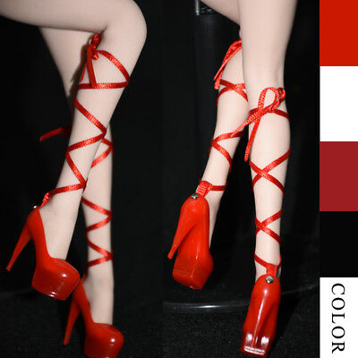 [NO STAIN]1/6 bandage high-heel shoes TBleague Phicen shoes