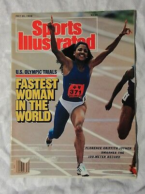 1988 SPORTS ILLUSTRATED Magazine ~ Florence Griffith Joyner 100M Gretzky Wedding