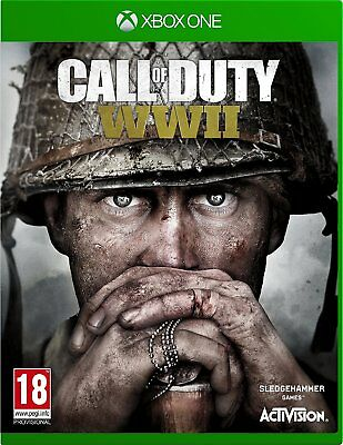 Call of Duty: WWII (XBOX ONE) BRAND NEW SEALED SHOOTER WORLD WAR