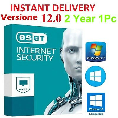 INSTANT DELIVERY Eset Internet Security 2019 Original 2Year 1Pc License