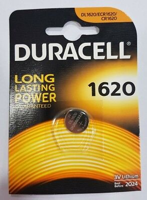 Duracell CR1620 Coin Cell Battery